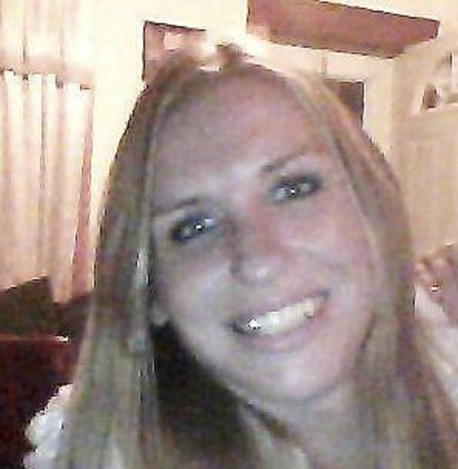 Photo - Rusti Bates, 27, died in a hit and run accident Wednesday evening. Photo provided.  PROVIDED