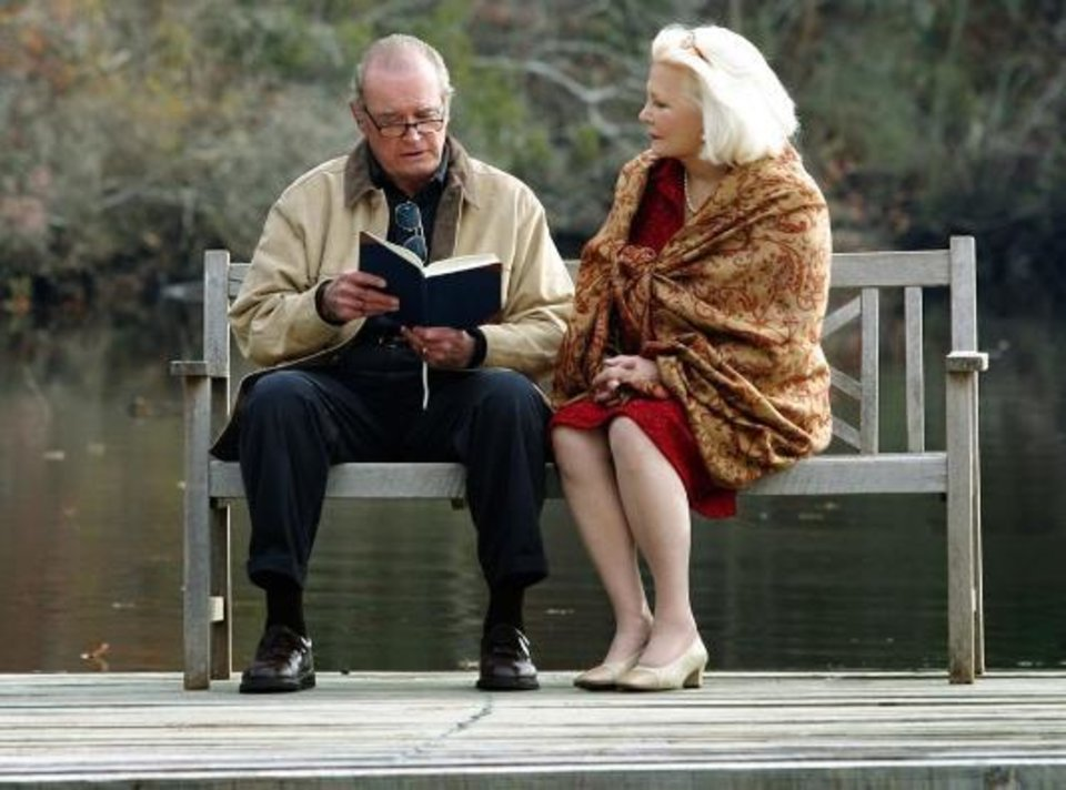 """Photo -  James Garner and Gena Rowlands co-starred in """"The Notebook."""" Photo provided"""