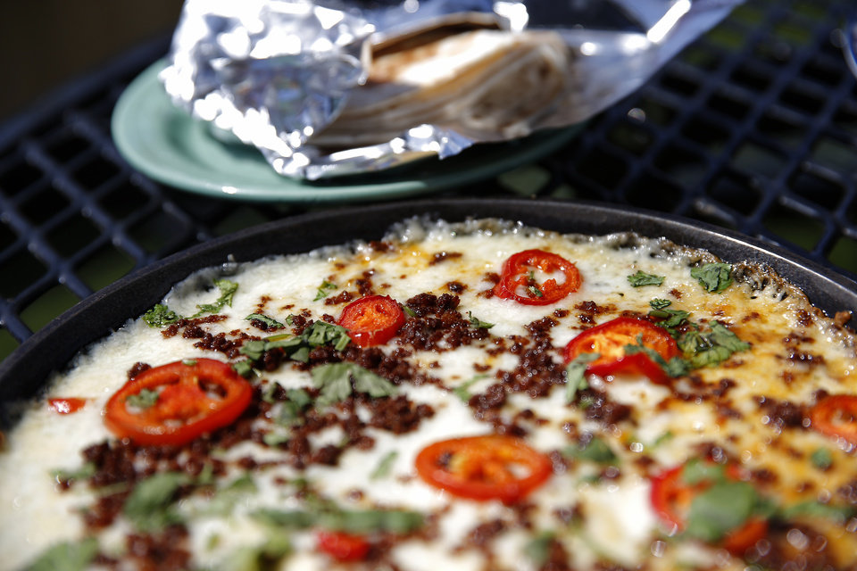 Photo -  Queso Fundido from Revolucion in downtown Oklahoma City. [Photo by Sarah Phipps, The Oklahoman]