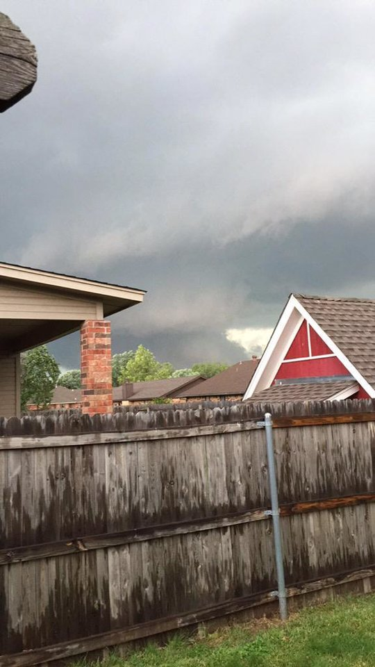Photo - Norman near Rockcreek and 36th - Photo via Daniel Brewer @DanielBrewer_ on Twitter