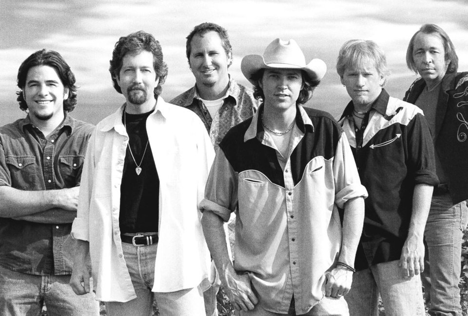 Texas country band Cooder Graw is shown in a 2003 photo. The band is bringing its reunion tour Saturday to the Wormy Dog Saloon, one of its old haunts. Photo provided. <strong></strong>