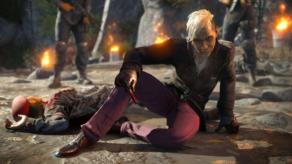 Photo - This photo provided by Ubisoft shows a scene from the video game,
