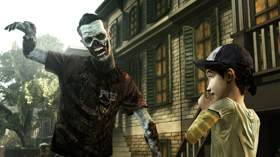 Photo - FILE - This undated publicity photo provided by Telltale Games shows a scene from the video game,