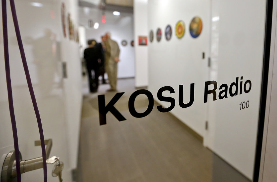 Photo - The new location of the KOSU public radio station located in the renovated Hart Building on Historic Film Row in downtown Oklahoma City on Friday, Sept. 20, 2013 in Oklahoma City, Okla. Photo by Chris Landsberger, The Oklahoman