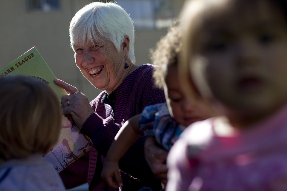 Judy Vaughan is the founding director of a shelter for women and children. She is shown on November 13, 2012, in Los Angeles, California. (Gina Ferazzi/Los Angeles Times/MCT)