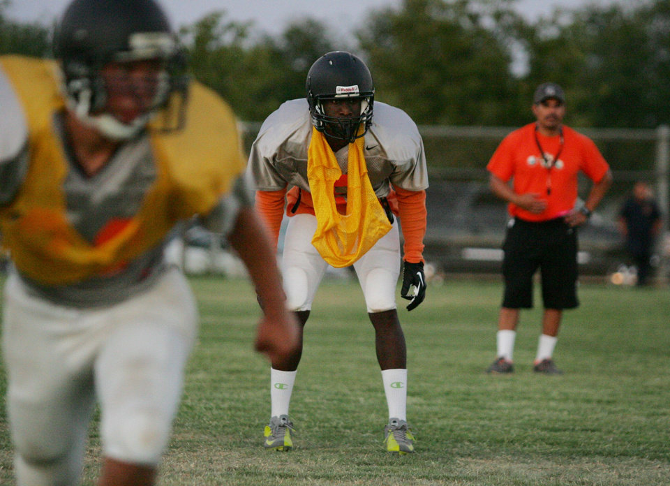 Oklahoma safety commitment Hatari Byrd. PHOTO COURTESY FRESNO BEE <strong></strong>