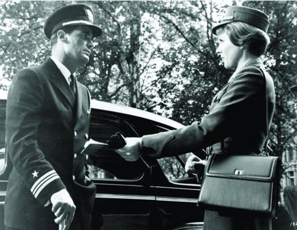 """Photo -  James Garner and Julie Andrews star in """"The Americanization of Emily."""" Photo provided"""