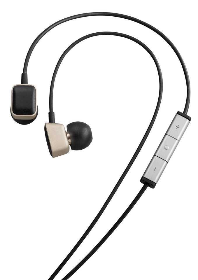 Photo - This product image provided by Harmon Kardon shows a set of AE-S Premium headphones that comes with the HTC One M8 smartphone. The phone features Clari-Fi, a new technology from Harman Kardon, which aims to restore some of the audio signal that is lost because of digital compression in today's download and streaming formats. (AP Photo/Harman-Kardon)
