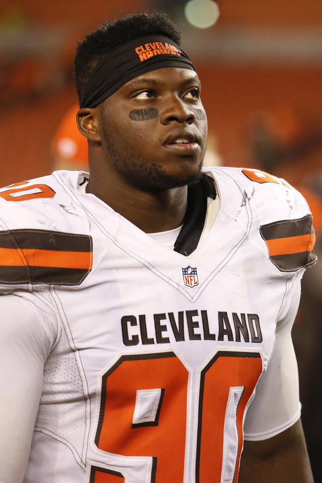 Okies in the NFL: Game is slowing down for Clevland Browns ... Emmanuel Ogbah