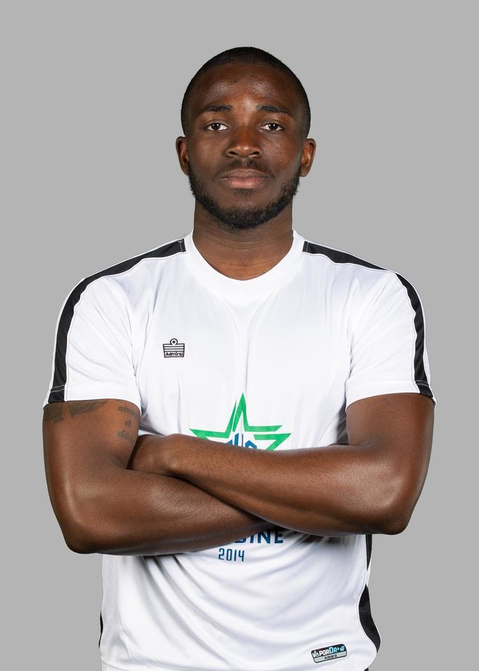 Photo - Peabo Doue, Oklahoma City Energy FC. PHOTO BY STEVEN CHRISTY, FOR THE OKLAHOMA CITY ENERGY FC