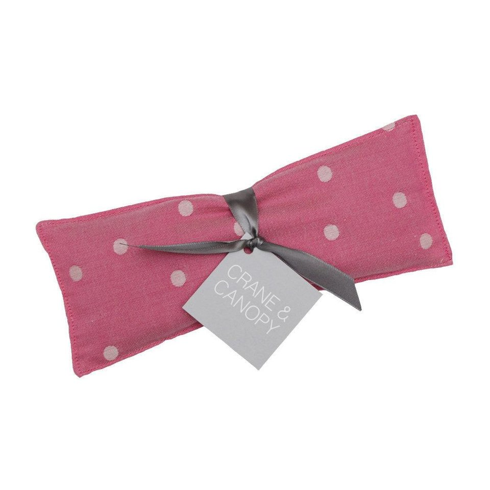 Fifty percent of proceeds from all sales of pink bedding, as well as Crane & Canopy's special-edition pink dotted lavender eye pillows, during the month of October will benefit Susan G. Komen in support of Breast Cancer Awareness Month. Photo provided.   <strong></strong>
