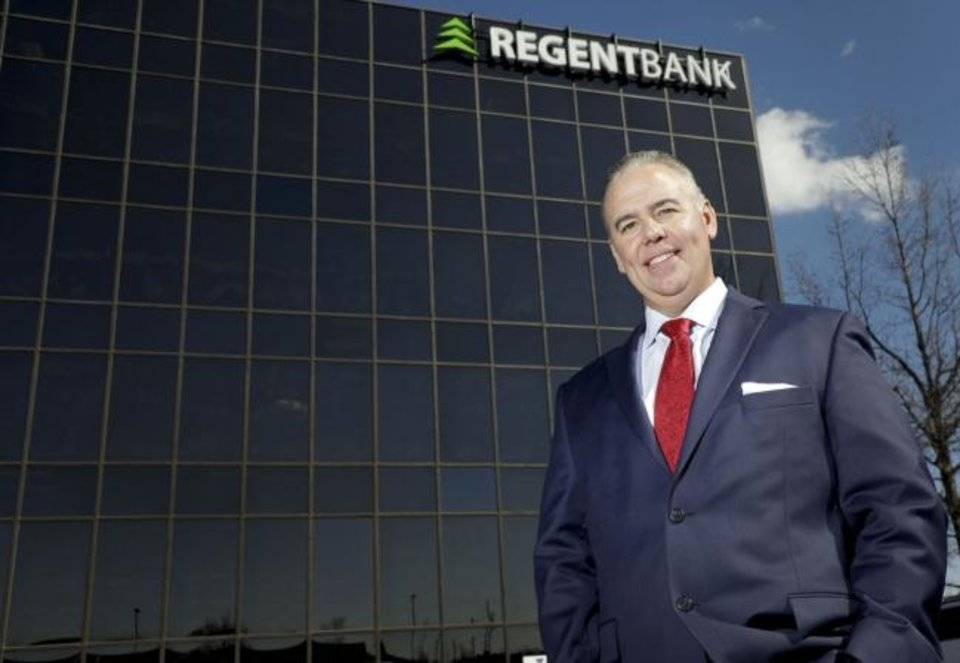 Photo -  Sean Kouplen, CEO of  Regent Bank and Oklahoma Secretary of Commerce, is urging business and property owners to contact bankers for relief and to prepare assistance applications to the Small  Business Administration. [The Oklahoman Archives]