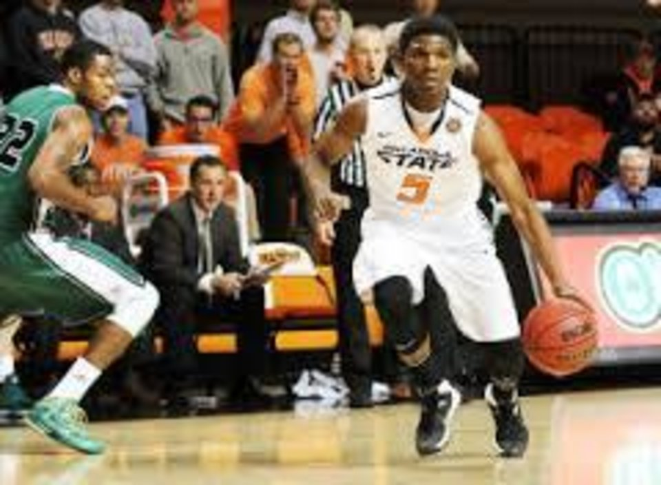 Photo -  Stevie Clark has been suspended and sent home from OSU's four-game trip to Florida.