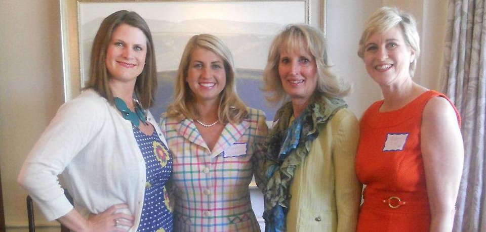 Photo - Whitney Moss, Katie Treadwell, Anne Gray, Millonn Lilly. PHOTOS PROVIDED