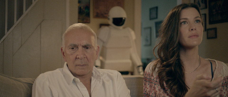 Photo - Frank Langella as retired cat burglar Frank and Liv Tyler as his daughter Madison in