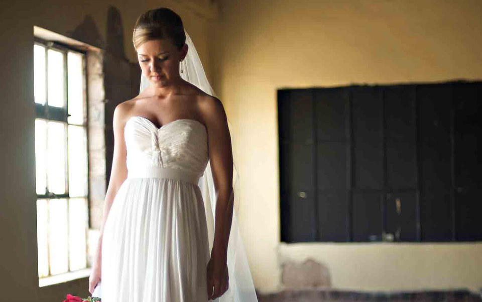 Photo - A Meg Guess bridal gown design. Courtesy Kevin Paul Photography