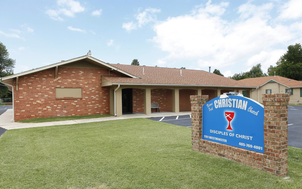 Photo - The new Nicoma Park Christian Church (Disciples of Christ) at 1701 N Westminster in Nicoma Park, formerly housed Grace Church. Photo by David McDaniel, The Oklahoman