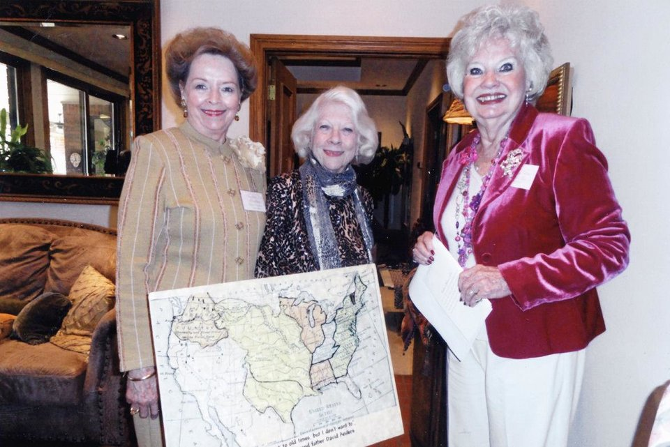 Sharlene Branham, Charlotte Rutledge, Dorothy Tebow. PHOTOS PROVIDED