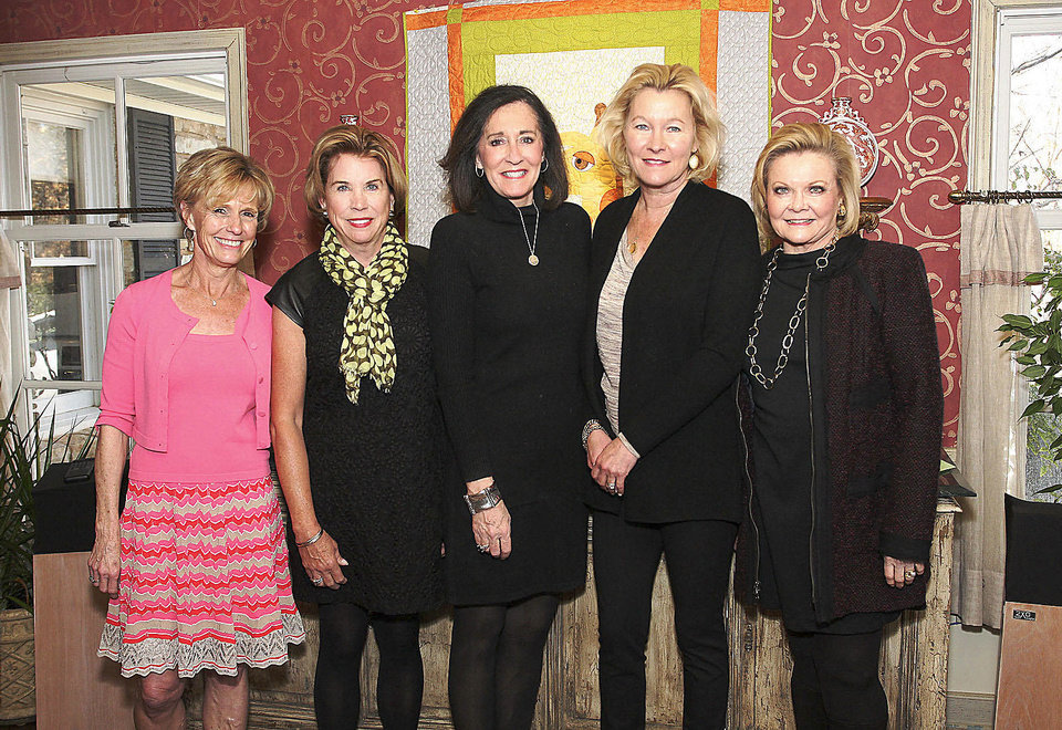 Photo - Debby McQueen, Peggy Duncan, Pat Northwood, Lucinda Huffman, Janie Law.