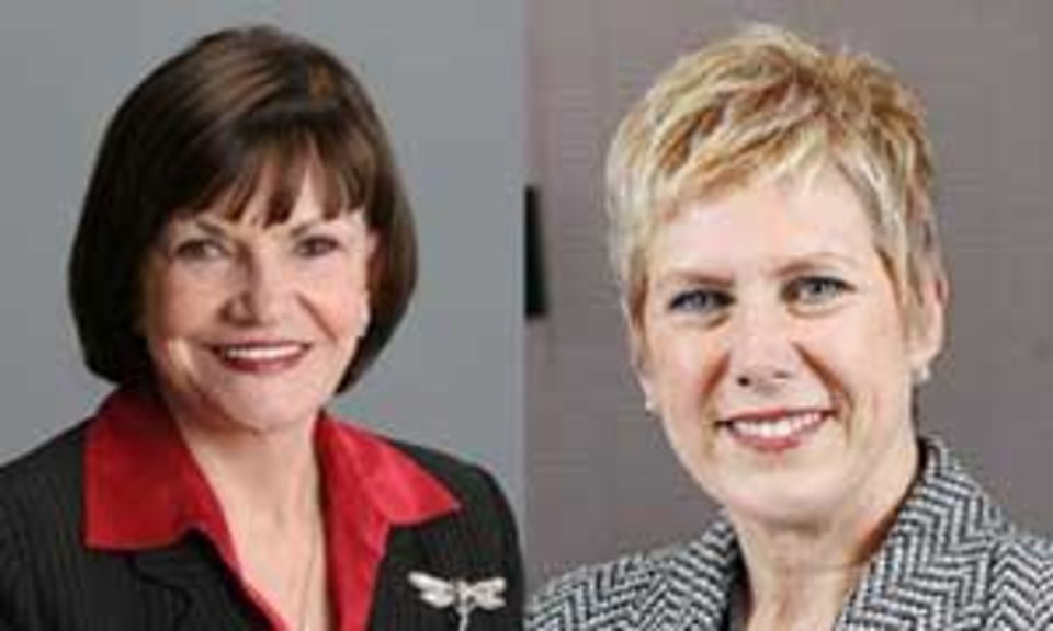 Photo - Freda Deskin, Janet Barresi - Photos provided