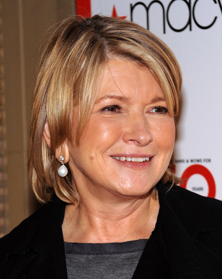 Photo - FILE - Television personality Martha Stewart attends Macy's 150th anniversary celebration at Gotham Hall on in this Oct. 28, 2008 file photo taken in New York. Stewart, 71, is scheduled to take the stand in New York State Supreme Court Tuesday March 5, 2013. She is at the center of a bitter legal battle between two of the nation's largest retailers _ Macy's Inc. and J.C. Penney Co. (AP Photo/Evan Agostini, File)