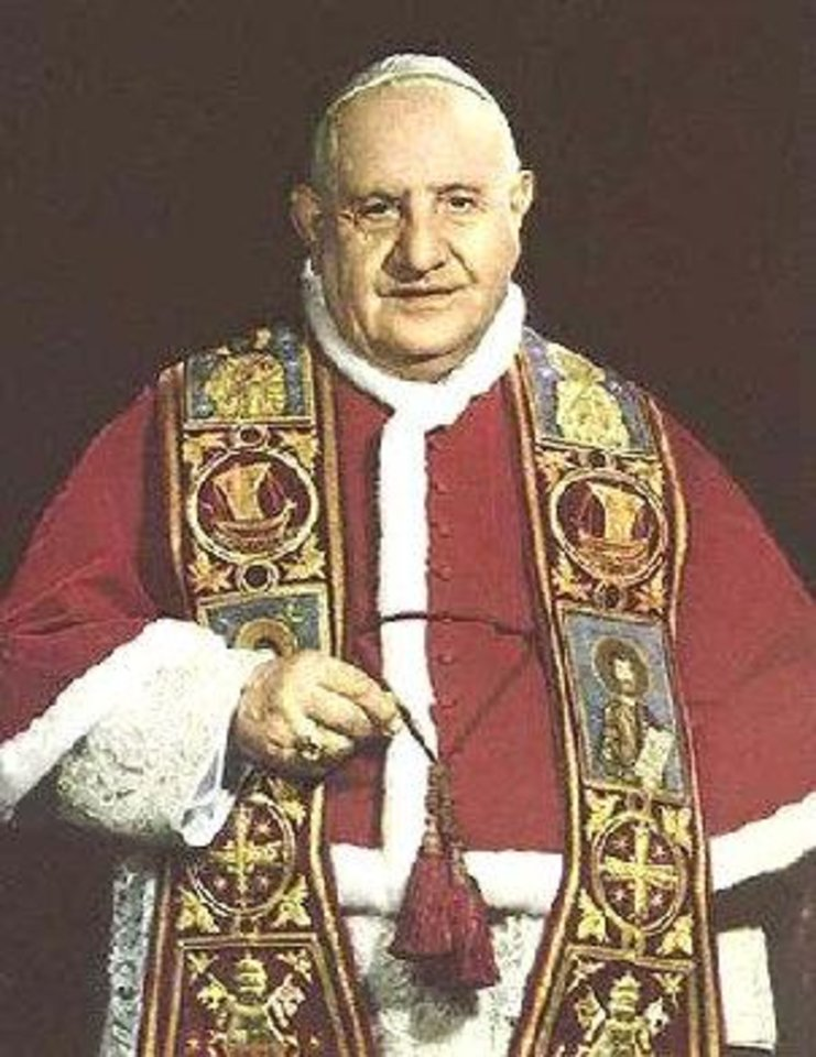 Pope XXIII is known for starting the Second Vatican Council, also known as Vatican II, which was designed to bring sweeping changes to the Roman Catholic Church. Photo provided <strong></strong>