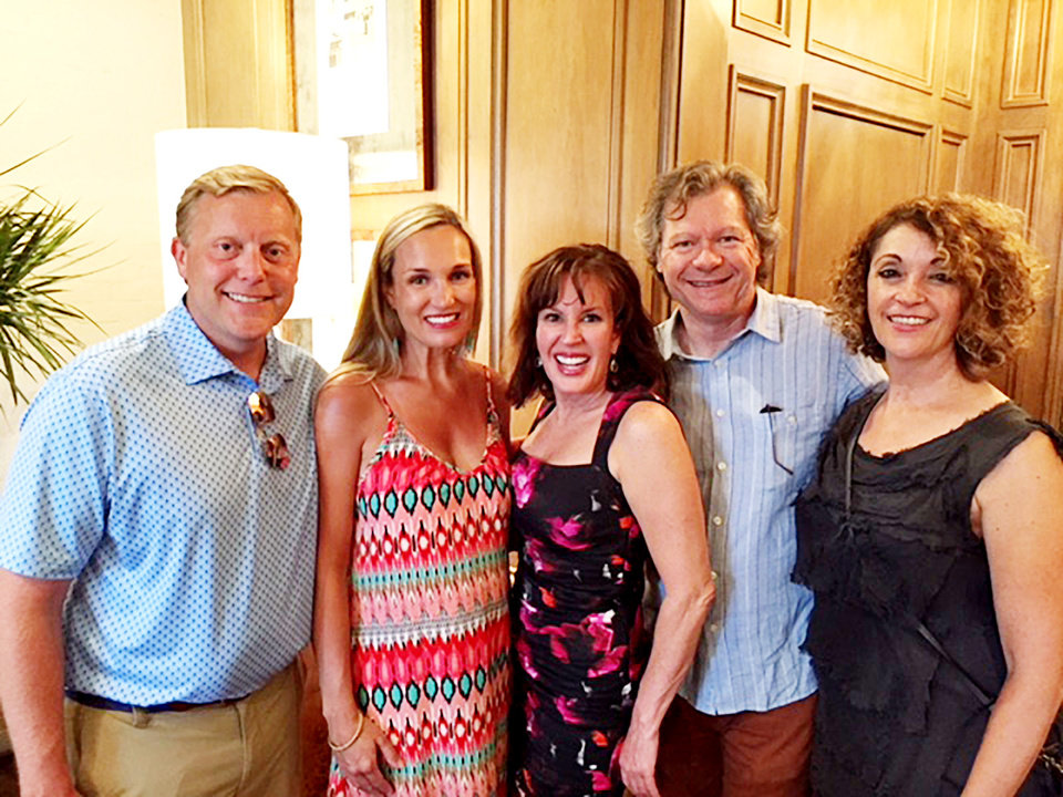 Photo - Nick and Leigh Bentley, Lori Burson, Mike and Lea Morgan. PHOTO PROVIDED