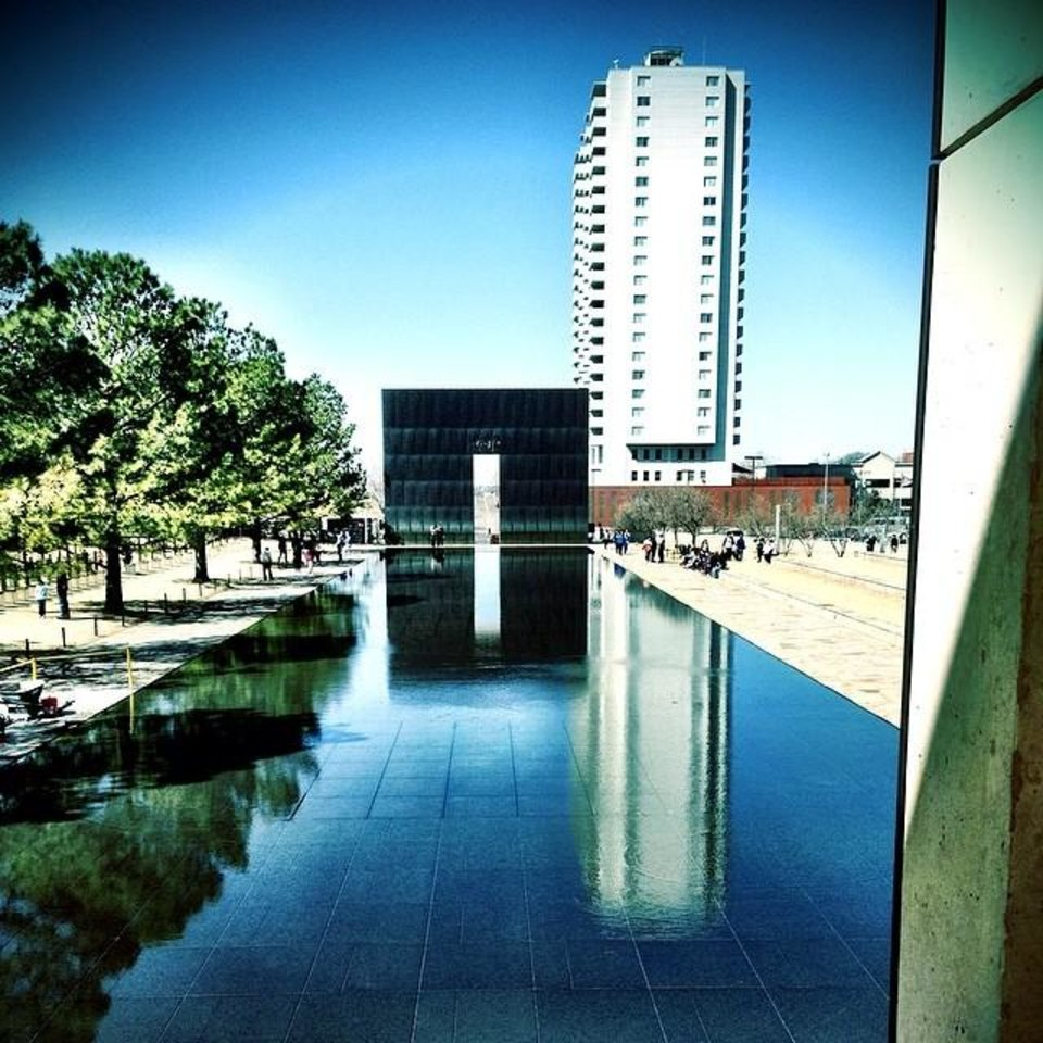Oklahoma City National Memorial & Museum - Photo by Instagrammer @hmpatel0110