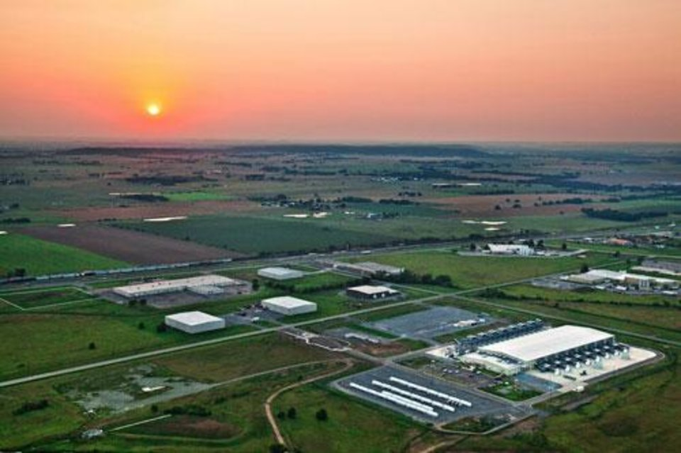 Photo -  Google plans to expand its data center in Pryor, shown here. [Photo provided]