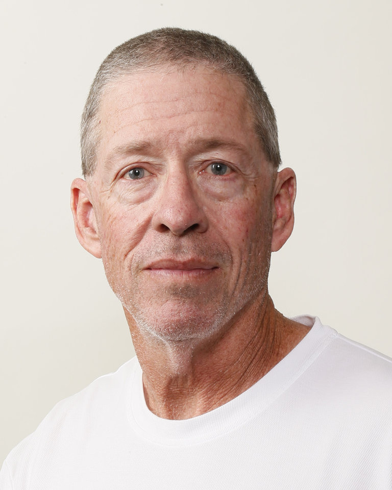 Photo - Gary Rose, Carl Albert football coach, poses for a mug shot during The Oklahoman's Fall High School Sports Photo Day in Oklahoma City, Wednesday, Aug. 15, 2012. Photo by Nate Billings, The Oklahoman