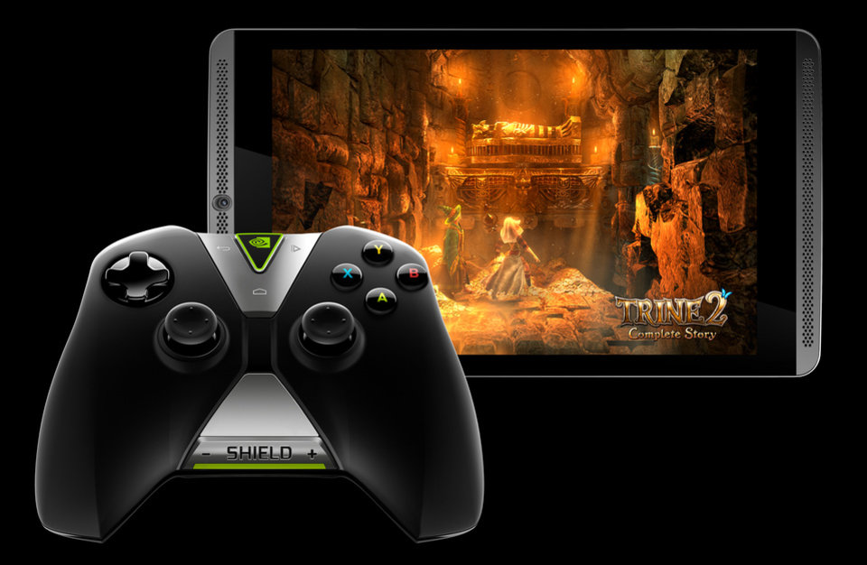 Photo -  The Nvidia Shield Tablet is shown. Photo provided