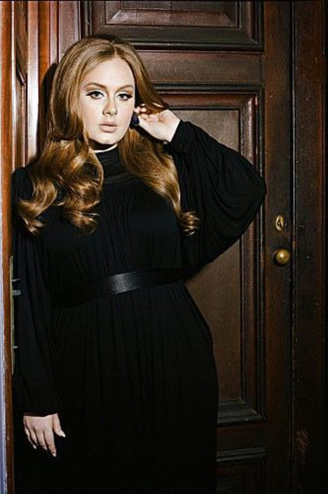 Photo -  Current GRAMMY√?¬Æ nominee Adele will make her much anticipated return to live performances on THE 54th ANNUAL GRAMMY√?¬Æ AWARDS, live from the STAPLES Center in Los Angeles Sunday, Feb. 12, 2012 (8:00-11:30 PM, live ET/delayed PT) on the CBS Television Network. Photo: Lauren Dukoff √?¬©2012 Columbia Records