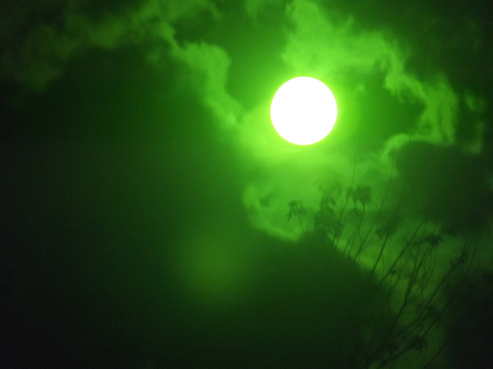 The Sun through Welders Mask, Shawnee Ok
