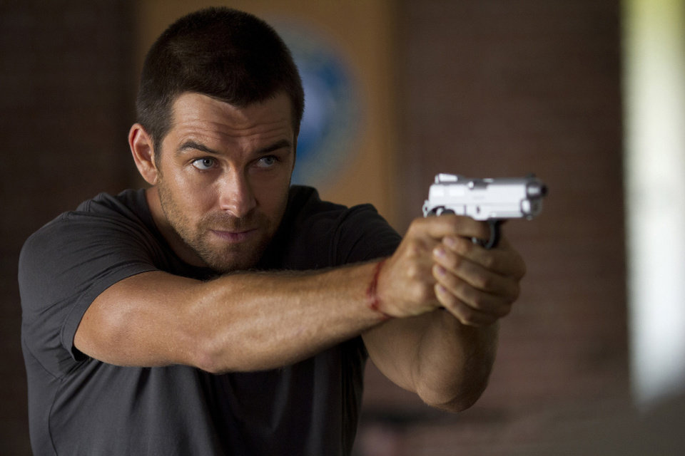 Antony Starr stars in the new Cinemax action series �Banshee,� premiering at 9 p.m. Friday. Cinemax photo