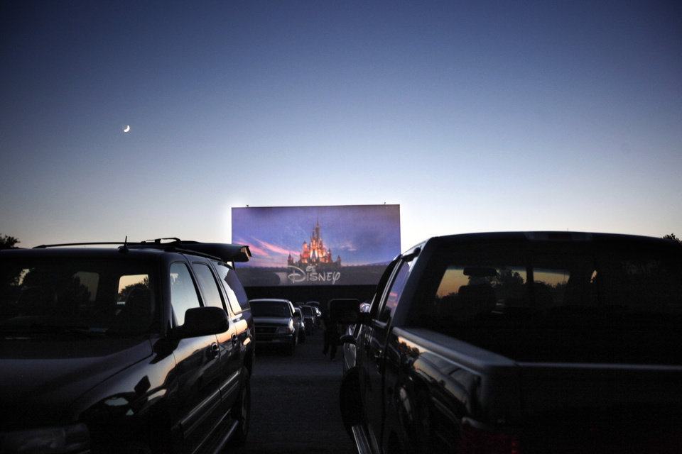 "People watch ""Brave"" at the Winchester Drive-In in Oklahoma City, Okla. Friday, June 22, 2012. Photo by Sarah Phipps, The Oklahoman"