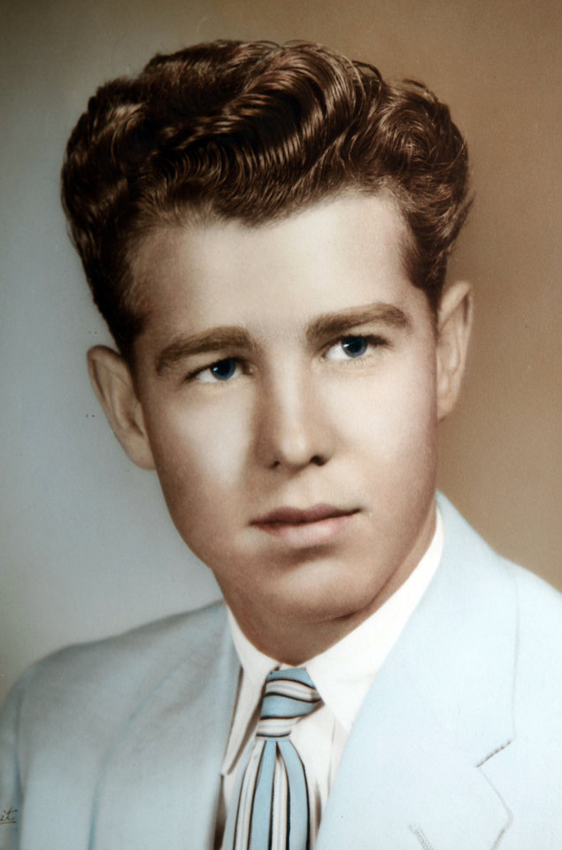 Photo - L.G. Wakefield Shown in his 1957 senior picture