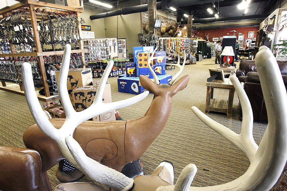 Photo - Heartland Outdoors grand opening in August was so successful that the store had to close for one week to restock, an owner said.