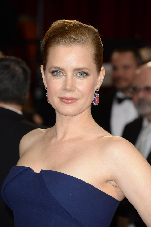 Photo - Amy Adams arrives at the Oscars on Sunday, March 2, 2014, at the Dolby Theatre in Los Angeles.  (Photo by Dan Steinberg/Invision/AP)