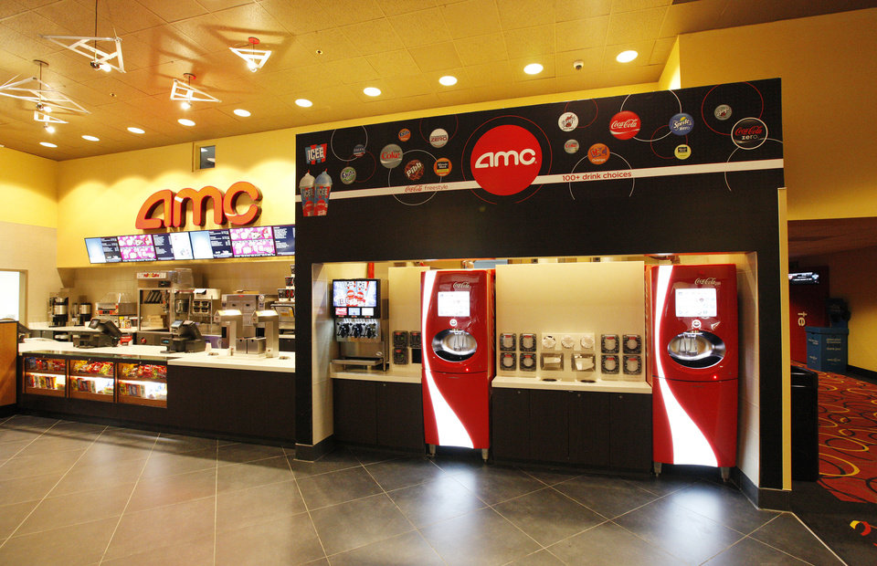 The remodeled concession counter features a Coca-Cola Freestyle drink dispenser. <strong>PAUL B. SOUTHERLAND - PAUL B. SOUTHERLAND</strong>