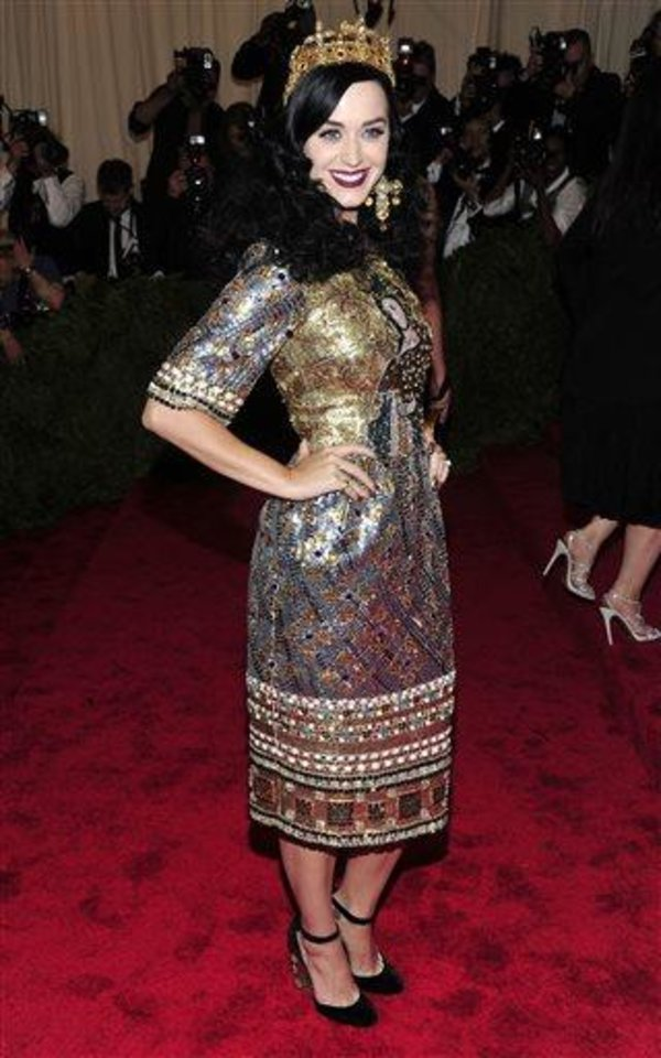 Photo - Katy Perry attends The Metropolitan Museum of Art's Costume Institute benefit celebrating