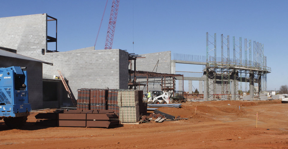 The Edmond Recreation and Aquatic Center will have seating for up to 800 spectators in the pool area.