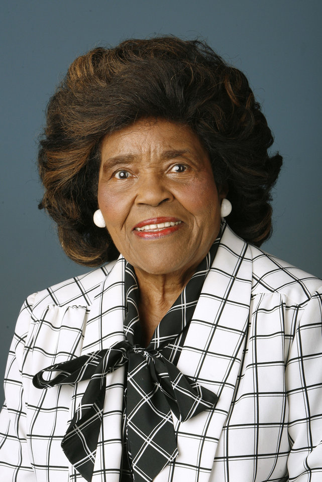 Thelma Parks in  2009