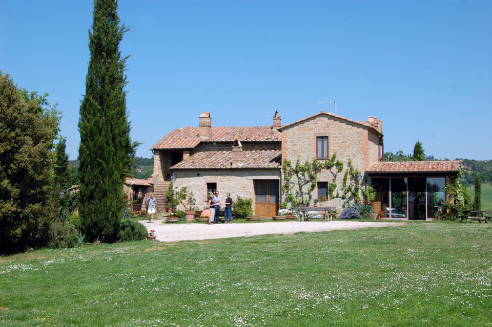 Photo - Agriturismi vary wildly in quality — some properties are rustic, while others are downright luxurious, offering amenities such as swimming pools and riding stables. (Photo by Rick Steves)