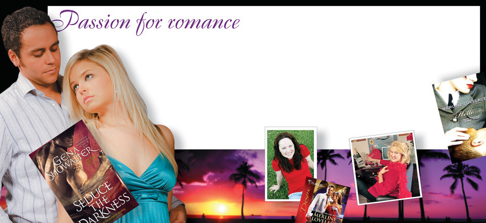 Photo - Passion for romance GRAPHIC WITH PHOTOS (Left to right): 1) You photo Romance Novels shot at OPUBCO studio on Thursday, Jan. 29, 2009, in Oklahoma City. Models Lance Burchett and Kylee Woodard. PHOTO BY CHRIS LANDSBERGER, THE OKLAHOMAN 2) BOOK COVER: