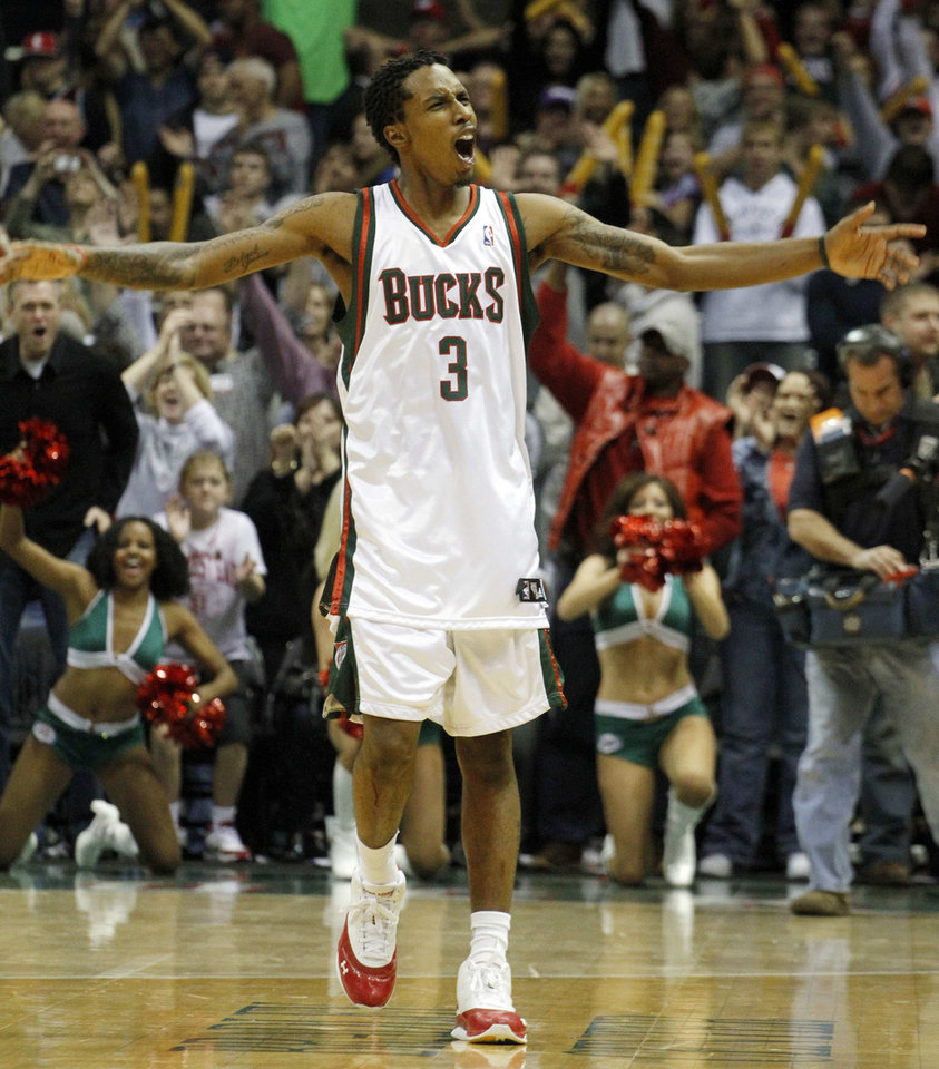Brandon Jennings could be the next Rookie of the Year. AP photo