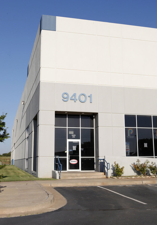 Vanguard Development built this bulk warehouse at 9401 S Pole Road.. <strong>PAUL B. SOUTHERLAND - The Oklahoman</strong>