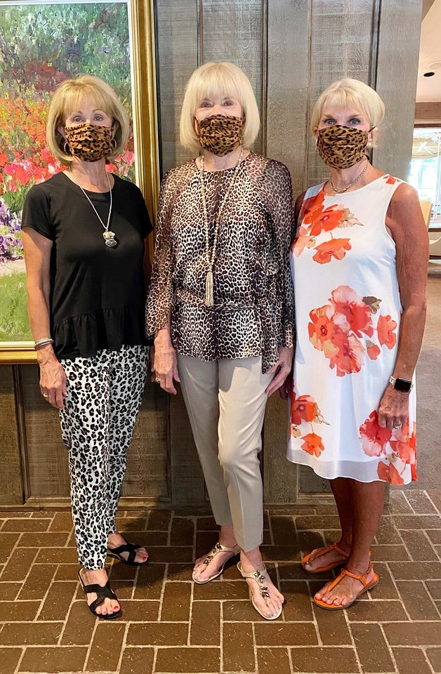 Photo - Sherry Beasley, Judy Love, Lou Morris. PHOTO PROVIDED