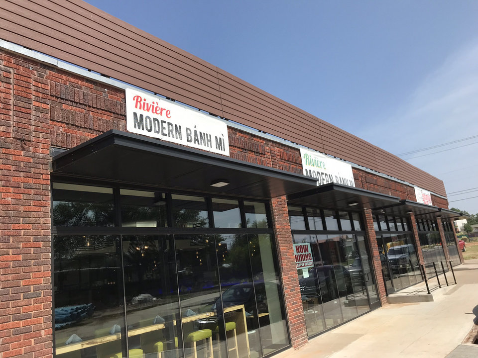 Photo - Riviere Modern Banh Mi opens later this month in Midtown. It is adjacent to a Jimmy's Egg at 905 N Hudson Ave. [Dave Cathey/The Oklahoman]