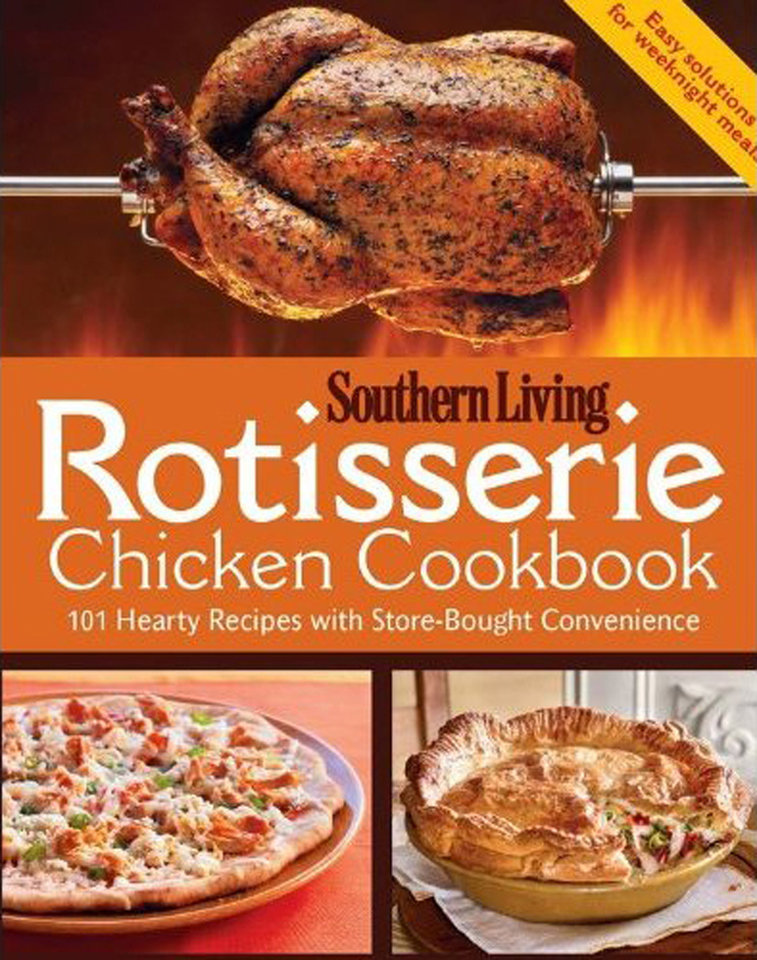 """Rotisserie Chicken Cookbook"" would make a great holiday gift for use throughout the year. (Lexington Herald-Leader/MCT)"