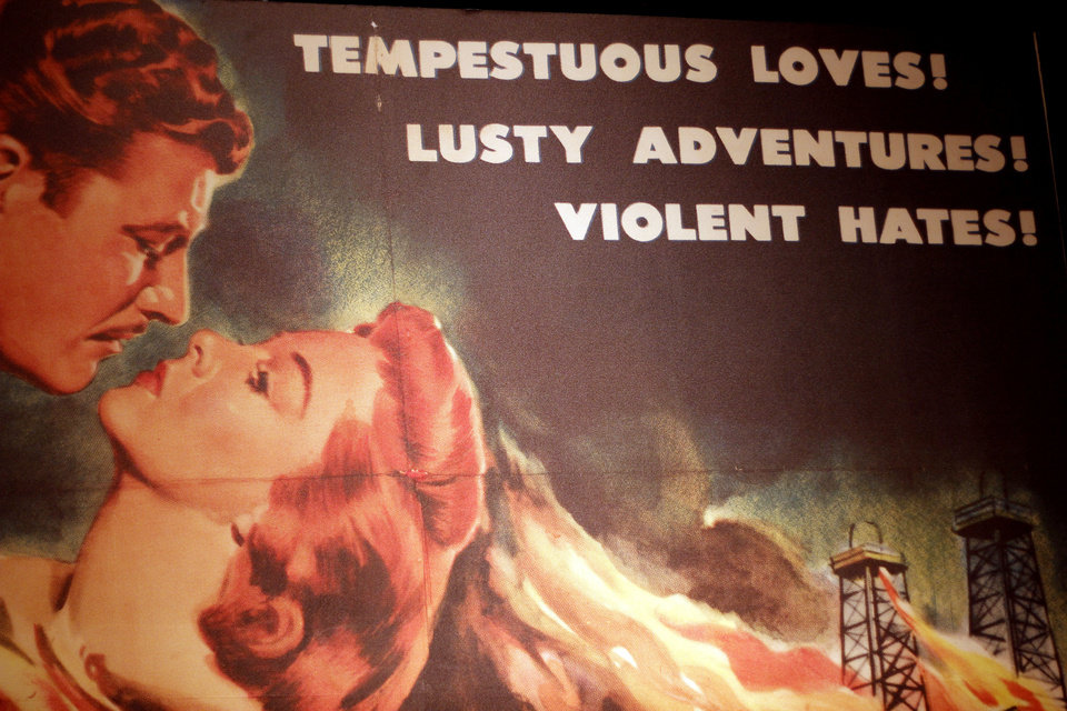Photo - This vintage poster in the